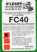 O'Learys FC40 (Box Of 12)